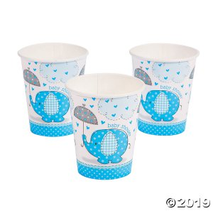 Umbrellaphants Blue Paper Cups (8 Piece(s))