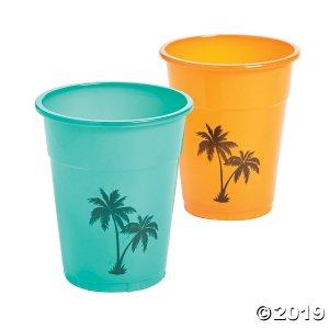 Cuban Party Plastic Cups (25 Piece(s))