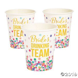 Bachelorette Bash Paper Cups (10 Piece(s))