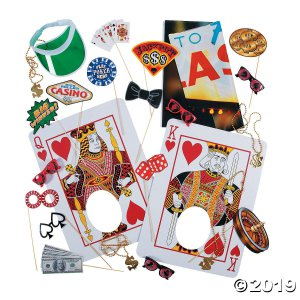 Casino Photo Booth Kit (41 Piece(s))