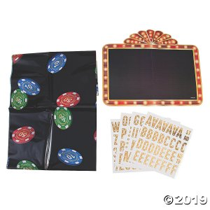 Casino Night Photo Booth Kit (1 Set(s))