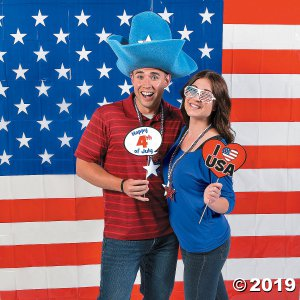Buy All & Save Patriotic Photo Booth Kit (40 Piece(s))