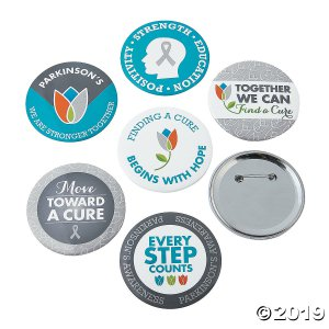 Parkinson's Awareness Buttons (24 Piece(s))