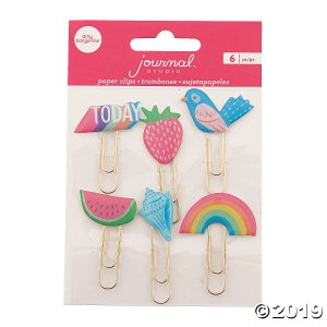 American Crafts™ Today Journal Paper Clips (6 Piece(s))