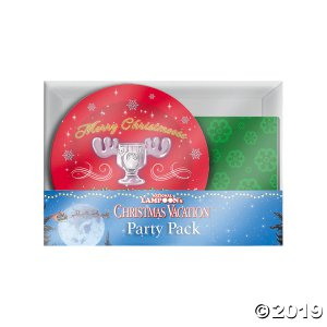 National Lampoon's Christmas Vacation™ Party Pack for 16 Guests (1 Set(s))