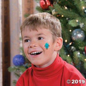 Holiday Glitter Tattoos (72 Piece(s))