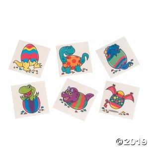 Dinosaur Easter Tattoos (72 Piece(s))