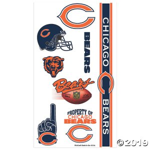 NFL® Chicago Bears™ Tattoos (7 Piece(s))