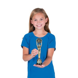 Personalized And the Award Goes To Trophy (1 Piece(s))