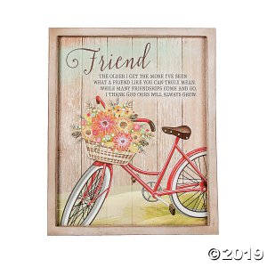 Friend Wall Plaque (1 Piece(s))