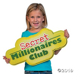 Jumbo Secret Millionaires Club™ Cutouts (1 Set(s))