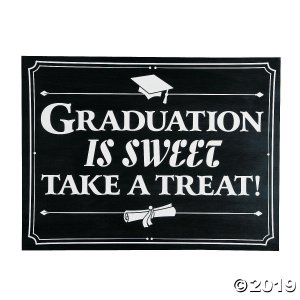Graduation is Sweet Sign (1 Piece(s))