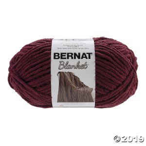 161110-10430 Bernat Blanket Big Ball Yarn-Purple Plum