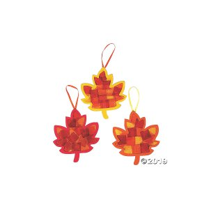 Tissue Paper Leaf Craft Kit (Makes 12)