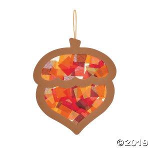 Acorn Tissue Paper Craft Kit (Makes 12)