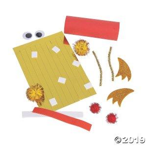 Chinese New Year Dragon Craft Tube Craft Kit (Per Dozen)