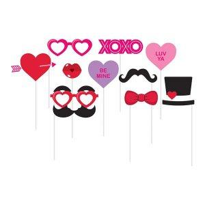 Valentines Photo Prop Kit