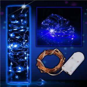 """LED Blue 78""""  String Lights (Per 6 pack)"""