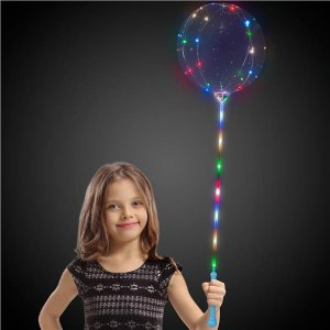 LED Lollipop Balloon™ with Blue Handle