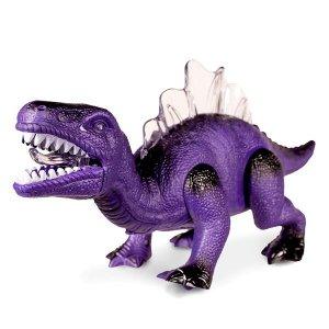 LED Walking Purple Dinosaur Toy
