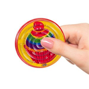 Rainbow Party Maze Puzzles (Per 12 pack)