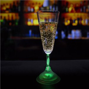 LED 7.5 oz Champagne Glass