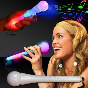 LED Sound-Activated Microphone