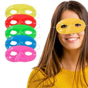 Colorful Half Masks (Per 12 pack)