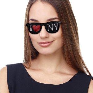 I Heart NY Novelty Sunglasses