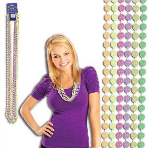 Glow In The Dark Mardi Gras Beads (Per 6 pack)