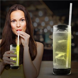 Yellow 9' Glow Motion Straws