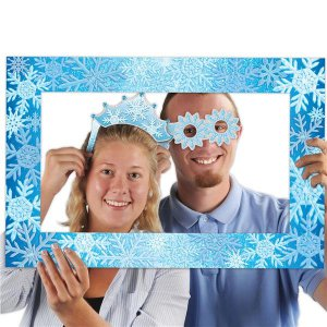 Snowflake Photo Booth Frame