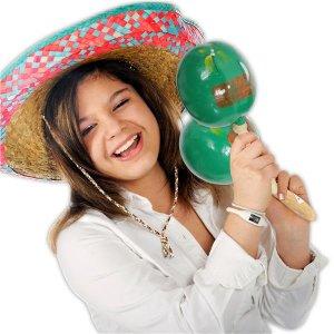 Genuine Mexican Maracas (Per 12 pair)