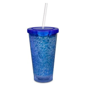 LED Blue Crystal 16 oz Tumbler