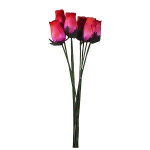 Pink  Wooden Rose Bouquet