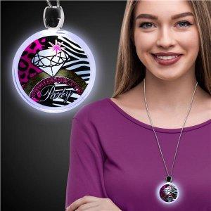 LED Bachelorette Party Pendant Necklace