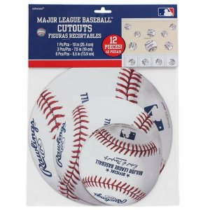Baseball Cutouts Value Pack