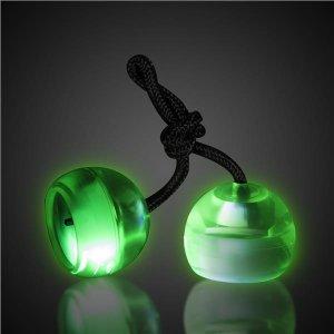 Green LED Thumb Chucks