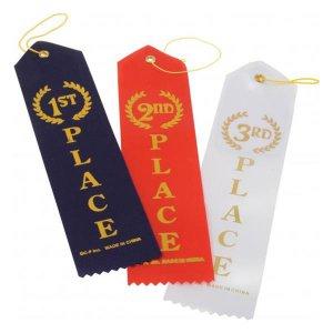 1st Place Blue Ribbon