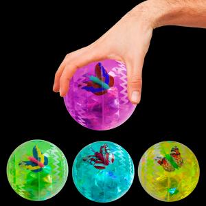 """2.5"""" Light-Up Bounce Balls"""