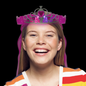 LED Light-Up Tiara - Multicolor