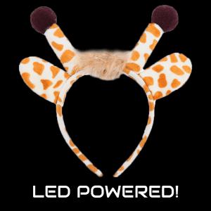 LED Light-Up Giraffe Headband