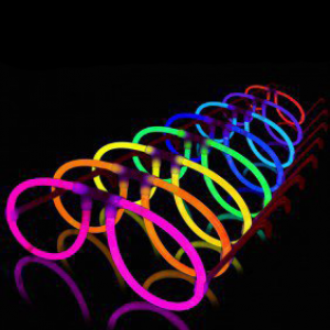 Glow Eyeglasses - Aviator - 8 Color Mix