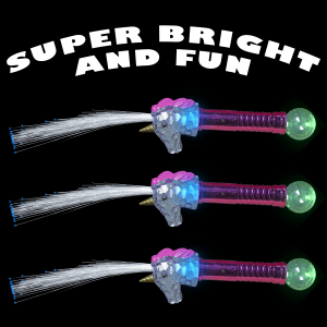 Magical Light Up Unicorn Toy Wands