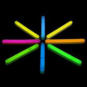 2 Inch Mini Glow Sticks - 5 Color Mix