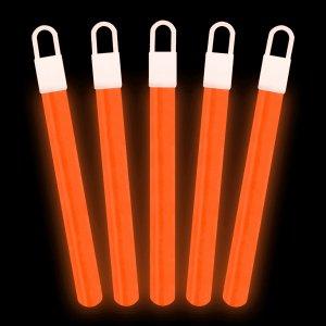 4 Inch Light Sticks - Orange