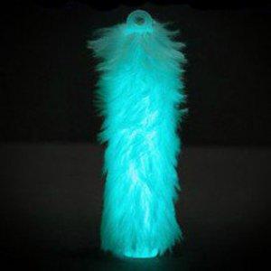 6'' Fuzzy Glow Sticks - Aqua