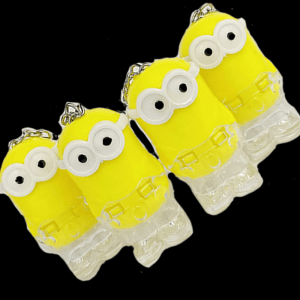 LED Light-Up Colorful Minions Keychain