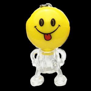 LED Light-Up Emoji Face Keychain-Mix