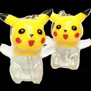 LED Light-Up Pokemon Keychain